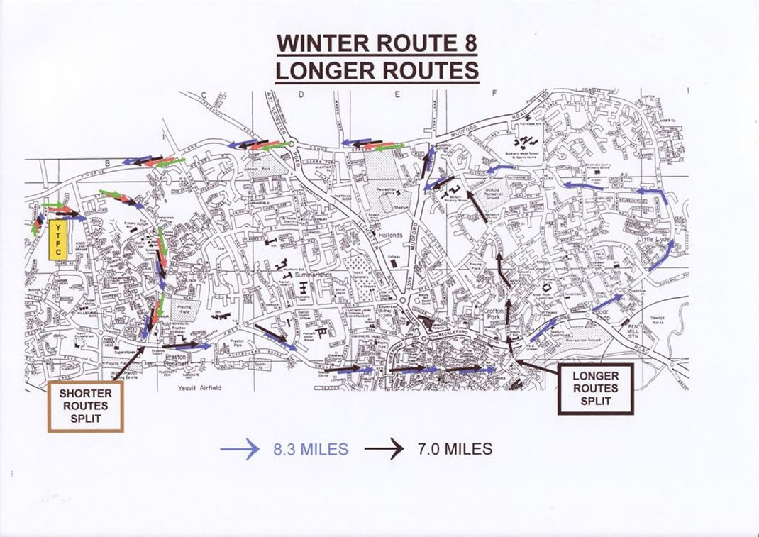Winter Route 3